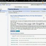 Conoce SingleFile para Google Chrome