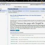 Conoce SingleFile para Google Chrome